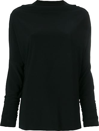 Norma Kamali Camiseta mangas longas - Preto