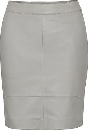 White Astridgz Long Skirt  Gestuz  Midi- & knelange skjørt - Dameklær er billig