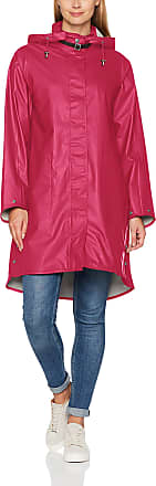 Ilse Jacobsen ILSE Jacobsen Womens RAIN71 Parka Long Sleeve Rain Jacket, Pink (Warmes Rosa 317), 12 UK (Manufacturer Size: 38)