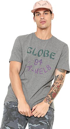 Globe Camiseta Globe Take Away Cinza