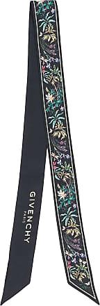 Givenchy Echarpe com estampa tropical - Preto