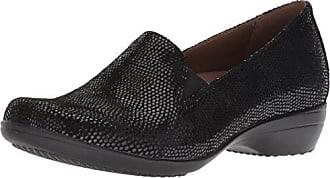 Dansko Womens Farah Loafer Flat, Black Lizard, 36 M EU (5.5-6 US)