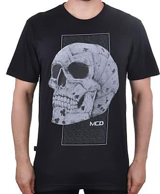 MCD Camiseta MCD Skull Card - Cinza - P
