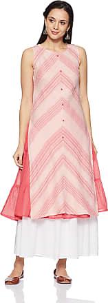 Aurelia Womens Wrap Kurta (18FEK13542-79160_XL_Pink)