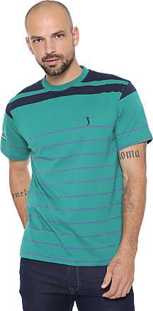 Aleatory Camiseta Aleatory Listrada Verde