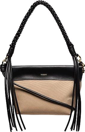 Yuzefi fringe trim shoulder bag - NEUTRALS