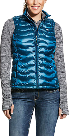 Ariat Womens Ideal 3.0 Down Vest in Dream Teal, Size Medium, by Ariat