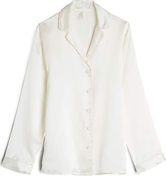 intimissimi Womens Mannish-Cut Jacket in Silk Satin