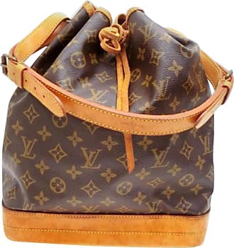 bdcd6d23082a Louis Vuitton Bucket Monogram Noe Gm Drawstring Hobo 232605 Brown Shoulder  Bag