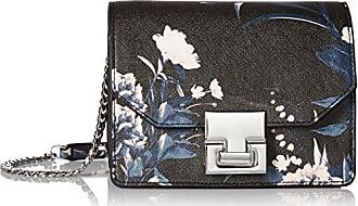 Ivanka Trump Hopewell Mini Shoulder Blk Floral Print