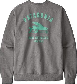 Patagonia Surf Activists Uprisal Crew Sweatshirt Longsleeve für Herren | grau