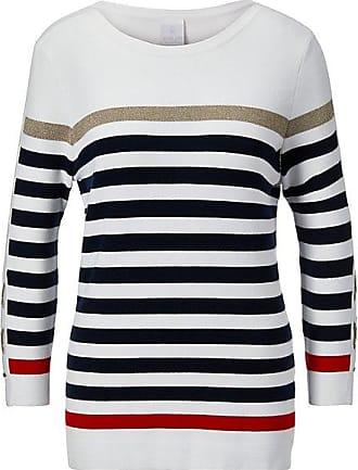 Margittes Sweatshirt WeißMulticolor