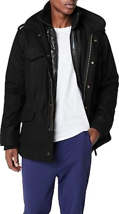 Brandit Mens M65 Voyager Wool Jacket, Black (Black 2), XXL