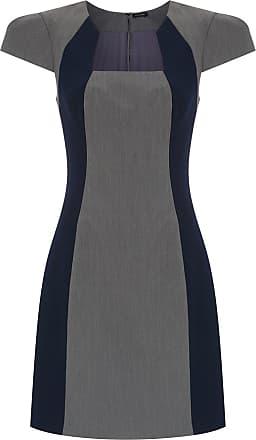 Tufi Duek Vestido curto com recortes - Azul