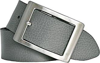 133256ac54020 Bernd Götz Damen Leder Gürtel 40 mm grau Nappaleder kürzbar Damengürtel  (110 cm)
