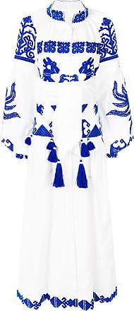 Yuliya Magdych Queen Of The Sun dress - White