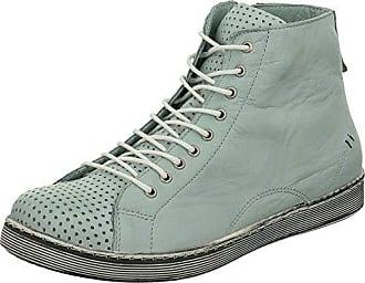 12962492cbfc52 Andrea Conti Damen High-Top Sneaker 0345728 Schnürboots Reißverschluss
