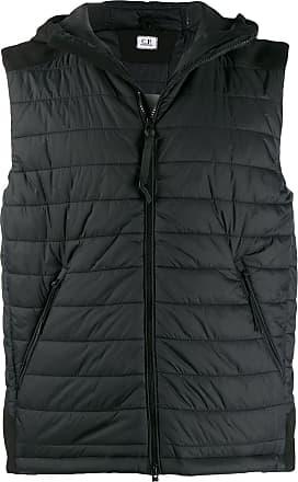 C.P. Company hooded gilet jacket - Preto