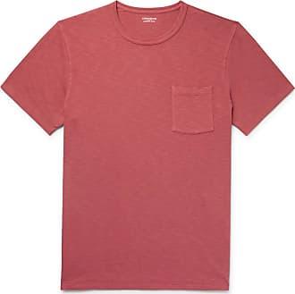 J.crew Garment-dyed Slub Cotton-jersey T-shirt - Brick
