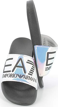 Emporio Armani EA7 U Ciabatta Fascia Big Logo SP020 Size 3.5