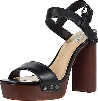 Vince Camuto Womens Lethalia High Heeled Sandal, Black, 5.5 UK