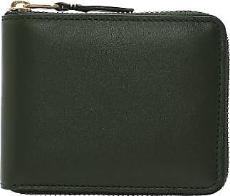 Comme Des Garçons Ledergeldbörse CDG Classic Color Wallet (SA7100 Bottle Green) - Green