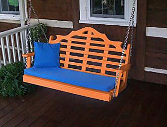 A & L Furniture A & L Furniture 868-O Orange Poly Marlboro Swing, Orange