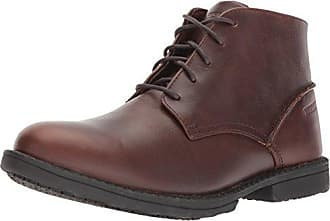Wolverine Mens Bedford Soft-Toe Chukka SR Boot, Brown, 7.5 Extra Wide US