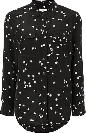 Equipment star print shirt - Black