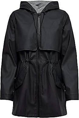Only Onlrace Short Raincoat Otw Giacca Impermeabile Donna