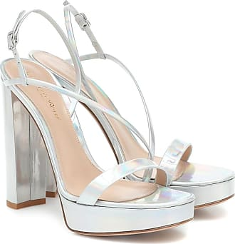 Gianvito Rossi Kimberly leather platform sandals