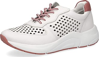 Caprice 23500-24 Womens Lace-Up Shoes, Womens Sporty Laces, Loose Insole White Size: 8.5 UK