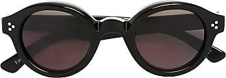 Lesca Óculos de sol redondo - Preto