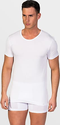 ZD Zero Defects Zero Defects white mercerized cotton crew-neck t-shirt