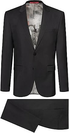a4a48938 HUGO BOSS Extra-slim-fit virgin-wool suit with collection lining