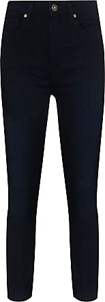 Paige Margot high-rise cropped jeans - Azul