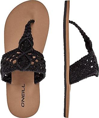 O'Neill Crochet Sandals black out