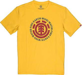 Element Men T-Shirt Seal (Gold), Size:XL