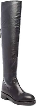 Steven by Steve Madden Womens Alora Leather Round Toe, Black Leather, Size 6.0 US / 4 UK US