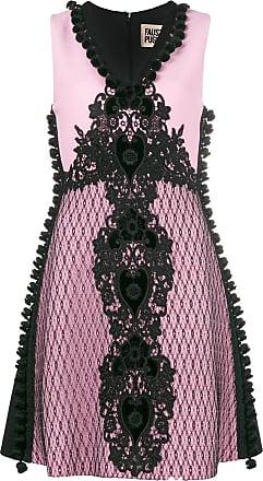 FAUSTO PUGLISI Vestido com bordado - Rosa