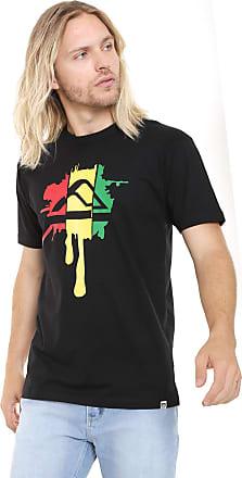 Reef Camiseta Reef Rasta Ink Preta