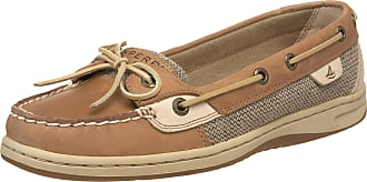 Sperry Top-Sider Womens Bluefish 2-Eye Nubuck Linen/Oat Casual Lace Ups 9276619 6 UK, 39.5 EU, 8.5 Us