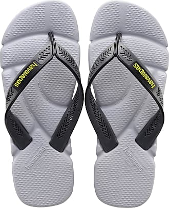 Havaianas Mens Power Flip Flops, STEEL GREY/GREY, 4/5 UK 39/40 EU