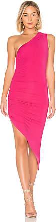 Lovers + Friends Francesca Midi Dress in Pink