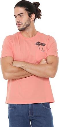 Wrangler Camiseta Wrangler Bolso Laranja