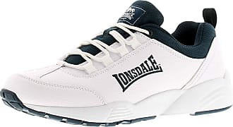 Lonsdale Hixon Mens Synthetic Material Running Trainers Navy - 10 UK