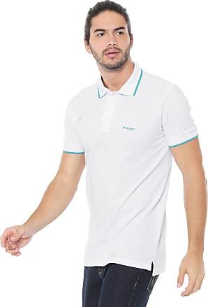 Wrangler Camisa Polo Wrangler Reta Logo Branca