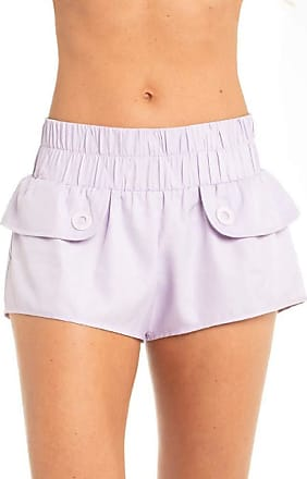 Red Nose SHORTS TACTEL FEMININO CANDY - RED NOSE LILAS PP