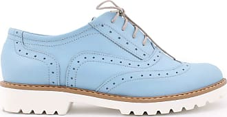 Zapato Womens Leather Oxford Shoes Model 258 White