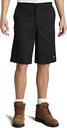 Dickies Mens 15 Inch Inseam Work Short with Multi Use Pocket - Black